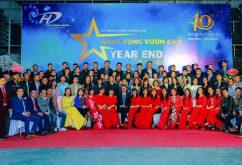 HUY DUONG GROUP kỷ niệm 10 năm thành lập và tiệc tất niên 2020