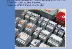 Báo giá Cầu dao tự động MCB Sino