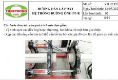 Hướng dẫn lắp đặt hệ thống đường ống PPR